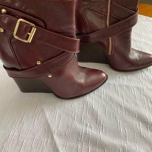 Rachel Zoe wedge boots